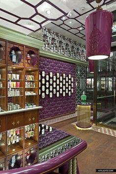 Penhaligon's at Regent Street, London // Christopher Jenner | Afflante.com