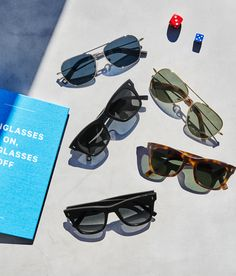 Ready to find your most perfect frames? Take this quick quiz, and voilà! We'll suggest some great-looking options to fill your Home Try-On. Warby Parker, Beach Ready, Cheap Bags, Cheap Travel, Try On, Eyeglasses, Finding Yourself, Fill, Frames
