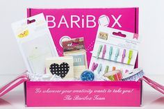 BariBox -- paper-crafting monthly subscription box