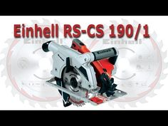 Serra Circular Einhell RT-CS 190/1 - YouTube