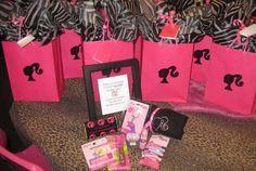 Barbie party favour bags
