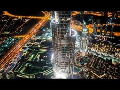 STAR WARS: JEDI warriors in epic lightsaber challenge at the Burj Khalifa, Dubai - YouTube