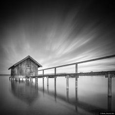 © Blende, Hiacynta Jelen, #Monoscape   #Verfall #Hütte #Wasser   #abandoned #blackandwhite #hovel #water