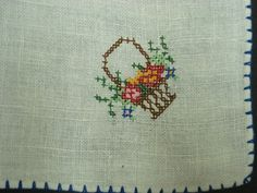 Fabulous Vintage Napkins Set of Four Luncheon or by VerasLinens