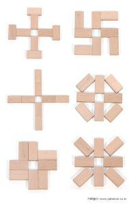 6 modelos a imitar con fichas de dominó