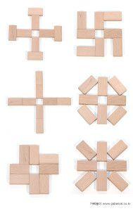 6 modelos a imitar con fichas de dominó Classroom Games, Math Games, Montessori Math, Preschool Activities, Kids Learning, Play Based Learning, Block Center Preschool, Jenga Blocks, Block Play