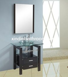 Photo Image Xinda Bathroom Cabinet Co LTD provide the reliable quality vanities for vessel sinks and