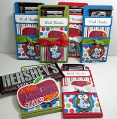 Hershey Bar Gift Card Holder