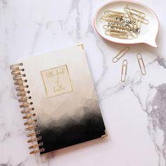 Custom notebook ~ Personalised journal ~ Bullet journalling ~ Wedding journal ~ Writing journal ~ Handmade ~ Hoard Pretty Things Nameplate