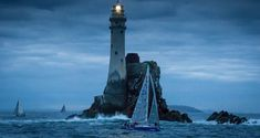 A maritime lawyer has appealed to the Taoiseach and the Irish lighthouse authority to save the original Fastnet lighthouse beam off west Cork. Photograph: David Branigan/Oceansport courtesy of Baltimore RNLI.