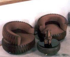 BricoBlog | 1000 ideas creativas neumáticos reciclados I | https://www.bricoblog.eu