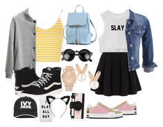 """""""SUMMER """" by bmo-gabrielle-c ❤ liked on Polyvore featuring Glamorous, Chicnova Fashion, Botticelli Limited, Vans, Polo Ralph Lauren, maurices, Aamaya by priyanka, Ivy Park and Kate Spade"""