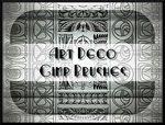 Art Deco GIMP Brushes by ~Jedania on deviantART