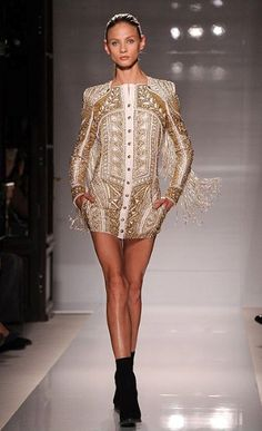 Olivier Rousteing's Balmain 2012 (wear with dress pants)