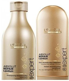L'Oreal Professionnel Paris Absolut Repair Lipidium Shampoo and Conditioner -- Check out this great product.