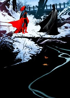 Batwoman/Batman JH Williams III art