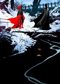 Batwoman/Batman JH Williams III art