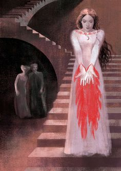 Lady Macbeth- Power and Ambition in Shakespeare series by Anna + Elena Balbusso Lady Macbeth, Macbeth Witches, Shakespeare Macbeth, William Shakespeare, Illustrations, Illustration Art, Art Zombie, The Scottish Play, Costume Design