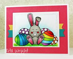 I had to use the new card kit from Simon Says Stamp this week.  I love eggs and bunnies so much.  This was my coloring for yesterday.  I ...