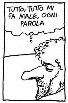 """Andrea Pazienza, """"Lo specchio dei tempi"""" (Frigidaire, 1986)"""