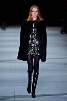 Yves Saint-Laurent @ Paris Fashion Week winter 2014-15 - video