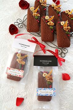 Brownie Packaging, Baking Packaging, Dessert Packaging, Mini Loaf Cakes, Cookie Factory, Cookies Branding, Bakery Menu, Japanese Sweets, Hampers