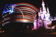 Fourth of July Inspires Light Painting at Magic Kingdom Park Disney Vacation Club, Disney Cruise Line, Disney Vacations, Disney Parks, Walt Disney World, Disney Fireworks, 4th Of July Fireworks, Fourth Of July, Tokyo Disneyland