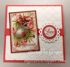 Graphic 45 Time To Flourish Valentine Cards