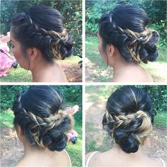 bridal hair   braid    beauty asylum   atlanta ga hair and makeup