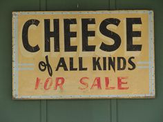 Wisconsin cheese.