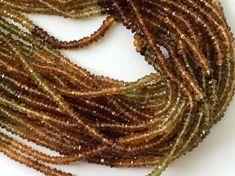 WHOLESALE 5 Pcs Petro Tourmaline Beads Tourmaline by gemsforjewels