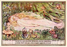 Minnie Dibdin Spooner  A Midsummer Night's Dream by William Shakespeare  *  The Golden Staircase ~ 1906