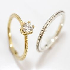 Skinny Bands Diamond Solitaire by Mairi Burrow http://www.fldesignerguides.co.uk/engagement-ring-designer/mairiburrow | More of F&L's Favourite Engagement Rings at http://www.pinterest.com/FLDesignerGuide/diamond-engagement-rings/