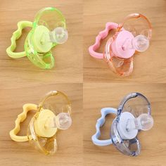 Baby Automatic Closing Pacifier Sleep Calm Mouth Strong Gums Nipple Soother #Affiliate