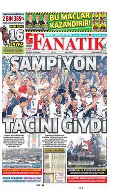 20 Mayıs gazete manşetleri | Şampiyon Beşiktaş .