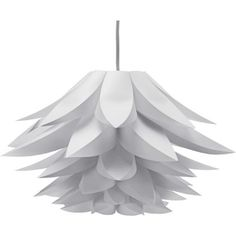 Living Lotus Polyprop Shade - White. at Homebase -- Be inspired and make your house a home. Buy now.