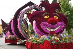 Bloemencorso in Eelde: annual flower parade