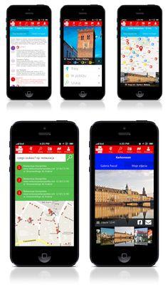 Projekt aplikacji mobilnej Pascal - Polska na weekend zrealizowany dla agencji reklamowej Wasistdas
