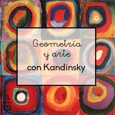 Geometría y arte siempre han estado estrechamente relacionados. Veremos cómo trabajar simultáneamente arte y matemáticas a través Kandinsky. Art For Kids, Crafts For Kids, Arts And Crafts, Kandinsky For Kids, Math Art, Collaborative Art, Elements Of Art, Art Plastique, Elementary Art
