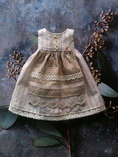 Robe tablier pour Blythe chemises Vintage par moshimoshistudio