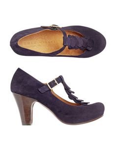 chie mihara shoes from Toast Purple Love, Most Beautiful, Beautiful Shoes, Great Hairstyles, Autumn Inspiration, Me Too Shoes, Peep Toe, Dress Up, Sanya