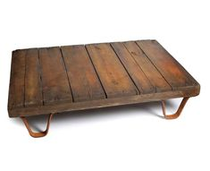 6. Low Coffee Table, Nixey & Godfrey, £275: For anyone concerned with furni - The Independent