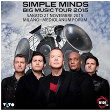 Con 5 album e oltre 60 milioni di dischi venduti hanno scritto la storia del rock. I Simple Minds arrivano dal vivo in Italia con un nuovo disco e tutti i loro piú grandi successi. Unica data evento il 21 novembre al Mediolanum Forum di Assago! Scopri tutti i dettagli!