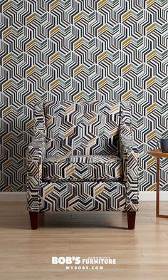 Home Decor Trends 2020 - Bob's Bold Prints, Mixing Prints, Fuzzy Chair, Chunky Blanket, Coffee Table Books, Cool Tones, Pantone Color, Home Decor Trends, Color Splash
