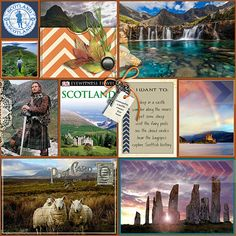 Travel dreams - Scotland - Scrapbook.com
