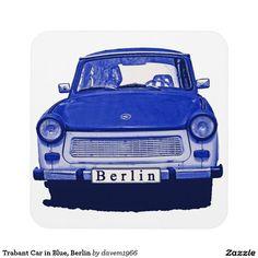 Trabant Car in Blue, Berlin Coaster