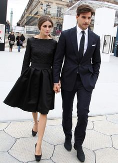 Such a stylish couple.