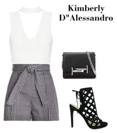 """""""Untitled #1525"""" by kimberlydalessandro ❤ liked on Polyvore featuring Zimmermann, Tod's and Iris"""
