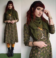 Dark Mori / Strega fashion from Ophelia Violetta