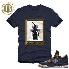 5e8fe7651e94bf JORDAN 4 DUNK FROM ABOVE - STATUE - SS   NAVY (MEN)